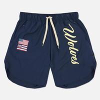 Mens Palestre Shorts sportivo Pista Bottoms traspirante Man jogging Pantalone corto di allenamento Bodybuilding Uomo Fitness Shorts Casual