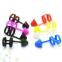 Nouveaux bandes de vape en silicone avec anneau antidérapant pour capuchon antipoussière et capuchons hygiéniques Fit tube de verre Atomiseurs Ecig DHL gratuit
