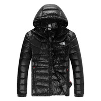 NF Mens Brand Winter Designer Down Parka Fashion tinta unita calda slim fit down giacche cappotti
