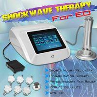 Mini ED Şok Dalga Tedavisi Cihaz Gainswave Fizyoterapi Makinesi Vücut Ağrı Kesici Elektromanyetik ED İçin Şok Dalga Tedavisi