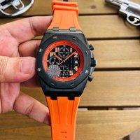 Super montres 016 LS 42MM 316L fin boîtier en acier après plusieurs processus de broyage et traitement intelligent givrer montre