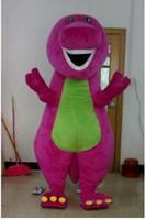 2019 rabatt fabrik verkauf Barney Dinosaurier Maskottchen Kostüm Film Charakter Barney Dinosaurier Kostüme Kostüm Erwachsene Größe