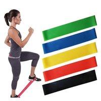 Bandes de résistance Set Tirez les niveaux de corde d'exercices de latex Equipement de l'équipement de fitness en caoutchouc Bodybuilding Bande d'entraînement Yya159