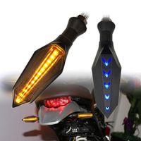 Moto Motosiklet Motosiklet Aksesuar Evrensel Motosiklet LED Dönüş Sinyali Işık Göstergeler flaşör Işık Flashers Aydınlatma