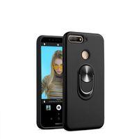 Funda de armadura para Motorola Moto G7 Power G7 PLAY Metropcs MOTO ONE VISION P40 E5 PLAY GO tpu + pc Kickstand Cubierta del teléfono B