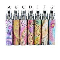 ecig ego Q batería ego-Q Rey relieve 650mAh 900mAh 1100mAh EGO510 reemplazo del vaporizador e-cigarrillo electrónico reachargable LJJ_A1780
