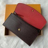 고품질 여자 지갑 여성 지갑 원래 상자 지갑 꽃 일련 번호 일련 번호