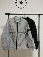 2020 Мужские Классические Роскоши Дизайнер Куртки Мужчины Куртка Водонепроницаемый Высококачественный нейлоновый ARM Логотип Вышивка Этикетка Ykk Застежка-молния Азиатский Размер Куртки