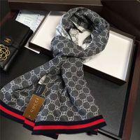 Hiver écharpe jacquard en cachemire tricoté classique hommes 180 * 30cm doux laine haut écharpe