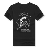 Metal Gear Solid T Shirt Kojima Productions Black Casual fun...