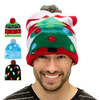 Ourwarm LED Christmas Light Up Beanie Hat Glowing Warm Child...