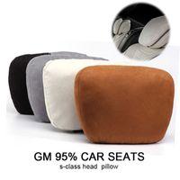 Siège auto de luxe Lunda dispose d'oreiller de l'appui-tête Coussin d'oreiller à col doux confortable Coussins de chaise de siège auto