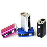 Top quanlity Mini vara 10 W Bateria Variável Potência Tensão 1050 mAh Bateria Com Tela OLED Pacote Simples 0266110