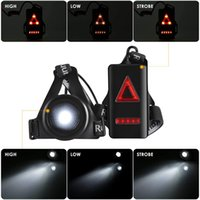 Running Lights LED Night Outdoor Camping Flashlight Warning ...