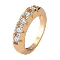 Anneau de diamant en or 14 carats pour les femmes à rejoindre la fête Gemstone de mariage diamante fiançailles bijoux anneau de mode