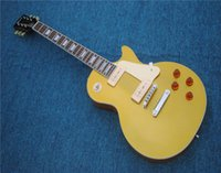 Free Shipping Standard LP electric guitar front gold back ye...
