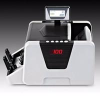 Yeni Tasarım Döner LCD Ekran Para Sayaç UV + MG + MT + IR + DD Algılama DMS-1180T Çok Döviz Bill Sayacı için Özel