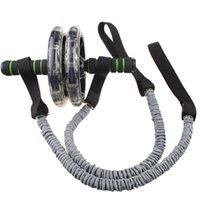 La nave libre del músculo abdominal rueda auxiliar de tracción por cable Gym Fitness Ab Roller bandas de resistencia Fitness Equipment dropshipping