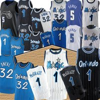 NBA Orlando Magic Penny 1 Hardway Tracy 1 McGrady Shaquille 32 Uneal Retro Jersey Mohamed 5 Bamba De'Aaron 5 Fox Marvin 35 Baggley III Chris Basket Balissimo Jersey