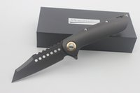 High Quality Custom Warhound Flipper Folding Knife D2 Blade ...