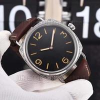 Meistverkaufte neue Mode Marke 00604 Mode Herrenuhr hochwertige Handaufzug Bewegung kratzfestes Glas super hell leuchtend