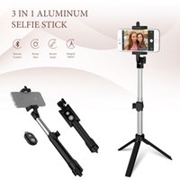Selfie Stick Tripod Portable One- Piece Universal Multifuncti...