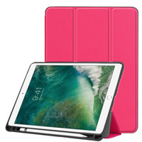 Ultra slim pu leather case livro flip capa com tpu para ipad air 3 10.5 2019 ipad pro 10.5 tablet com o sono acordar