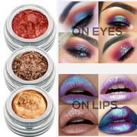 Novo designer mulheres luminosas monocromático molhadas cosméticos olho sombra brilho paleta de maquiagem líquido sombra 14 cores