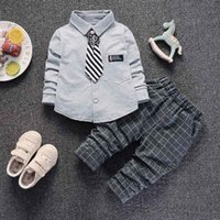 good quality 2019 new boys clothing sets spring autumn child...