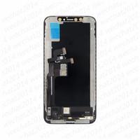 5 UNIDS LCD Pantalla OLED Pantalla táctil Piezas de repuesto del ensamblaje del digitalizador para iPhone X XR XS MAX 11 Pro Max Free DHL
