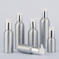 24 x aluminium bouteille Lotion contenants en métal avec pompe Presse Aluminium cosmétique Crème Flacon 40ml 50ml 100ml 120ml 150ml 250ml