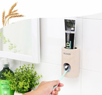 Automatic Toothpaste Dispenser Dust- proof Toothbrush Holder ...