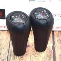 5 6 Speed Real Leather Gear Shift Knob With M Logo For 1 3 5...