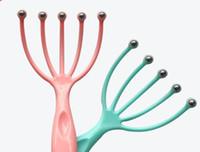 두피 목 SPA 스트레스 릴리프 릴리스 의사 장비 다섯 손가락 머리 발톱 문어 머리 케어 마사지를 휴식