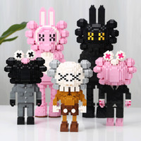 New KAWS Action FiguresBuilding Blocks Cos series puzzle ass...
