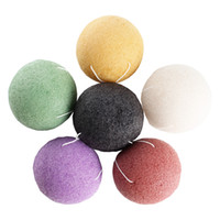 Konjac Sponge Puff Herbal Facial Sponges Pure Natural Konjac...