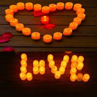 Packung mit 24 Bright WhiteTea Lights Batteriebetriebene LED Cystal Teelichter Flimmern Flammenlose Hochzeit Geburtstagsfeier Weihnachtsdekoration 6,8 cm