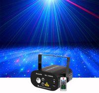 RGB LED Dinamik Filigran Etkisi DJ Uzaktan Lazer Sahne Işık Ev Gig Parti göster Aydınlatma ile Sharelife Kırmızı Yeşil Lazer Yıldız