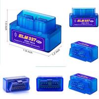 블루투스 인터페이스 자동 자동차 스캐너 automotivo escaner 자동차 미니 V2.1 ELM327 OBD2 자동차 용 ELM 327 진단 스캐너