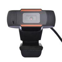 USB Web Cam Webcam HD cámara del ordenador portátil PC USB 2.0 Webcam Cámara 720P HD con micrófono para Transmisión de grabación