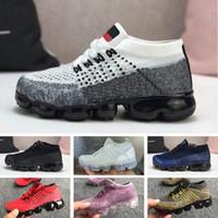 الأزياء الأكسجين وسائد للأطفال الأطفال الأحذية تينيسي بنين بنات المدربين الشباب zapatos ثلاثية الذهب الأسود الأبيض الجنس الأحمر الأزرق أحذية رياضية كبيرة للأطفال