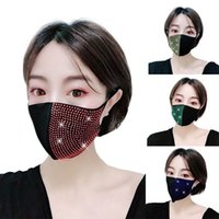 Colorful women glittering Face Mask dustproof masks tide mas...