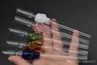 venta al por mayor del cráneo de cristal grueso gráficos tubos de filtro de mármol extranjero bateadores uno tabaco viajes Pipa de vidrio Pipa de vidrio bate de filtros de cigarrillos bateador