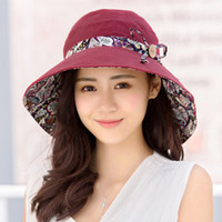 Summer lady sunscreen travel sunshade hat female summer UV p...