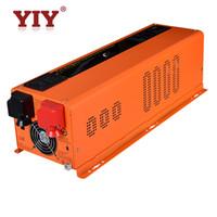 LED 3KW DC24V AC120V240V 60Hz Yiy 3000W Pure Sinus Wave Power Wechselrichter Batterieladegerät / Support Anpassen Off-Grid Hybrid