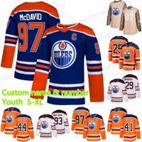 Gioventù 97 Connor McDavid Edmonton Oilers Jersey Jersey 99 Wayne Gretzky 29 Leon Draisoaitl 27 Milano Lucic 93 Nugent-Hopkins Jerseys hockey