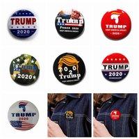 8 개 스타일 금속 트럼프 배지 2020 에나멜 핀 미국 대통령이 공화당 캠페인 정치 브로치 코트 보석 브로치 선물이 ZZA1423-2