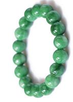 NEW Arrival!6mm 8mm 10mm 12mm Natural DARK Green Jade Charm Beads Bracelets For Women Min Order 10pcs Free Shipping