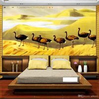 custom size 3d photo wallpaper bedding room mural desert lin...