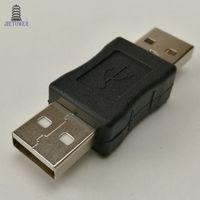 300 шт. / Лот USB 2.0 между мужчинами и женщинами мужской шнур кабель переходник адаптер разъем преобразователя